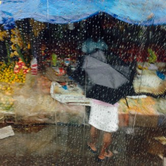 Monsoon from the bus - photo credit - Pauli-Ann Carriere