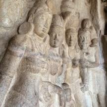 bas relief - Mahallapurum Tamilnadu India - photo - Karen Anderson