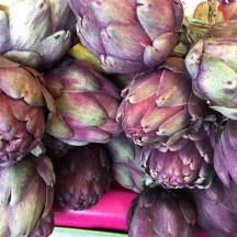 artichokes - photo - Karen Anderson