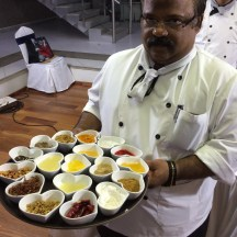 chef Dhiraj Vijayan at L'attitude 49 Mamallapuram - photo - Karen Anderson