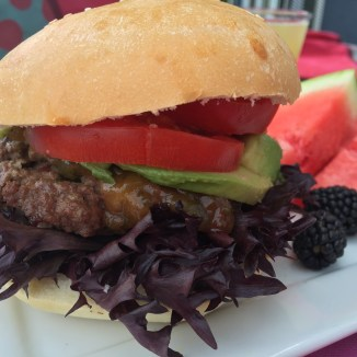Shish ka-burger - photo - Karen Anderson