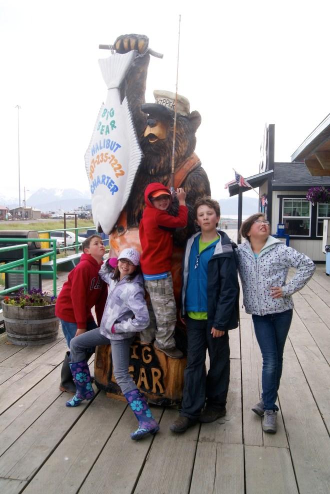Touring Homer's Spit, AK