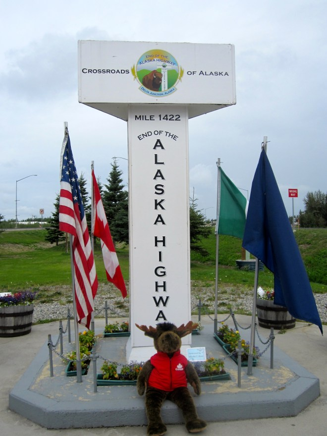 Alaska Highway End Marker