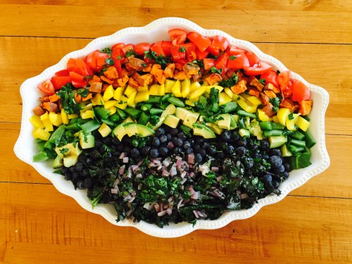 Eat the Rainbow Salad - photo - Karen Anderson