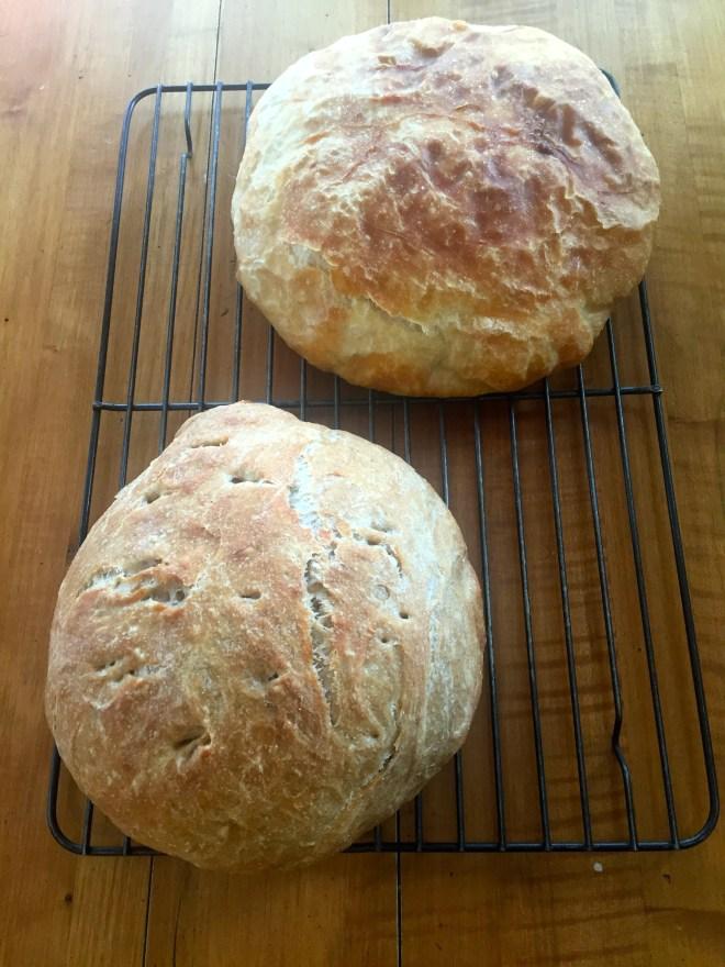 No Knead breads - photo credit - Karen Anderson