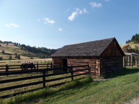 An original barn at Flintrock