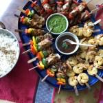 kebab platter for Avenue Magazine