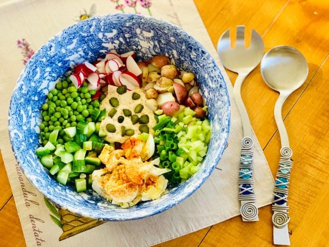 potato salad fixings