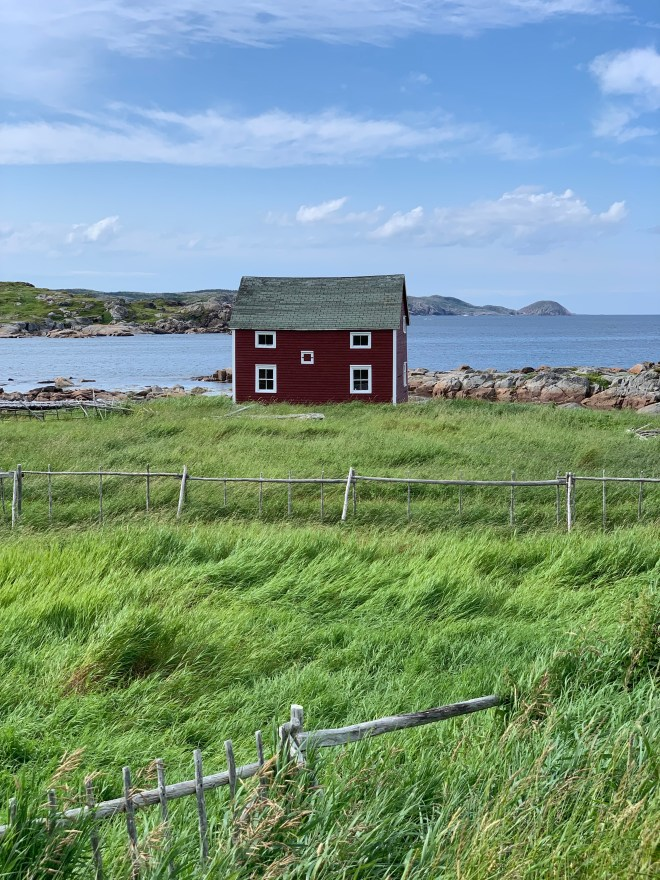 Red building - Fogo Island - photo by Karen Anderson