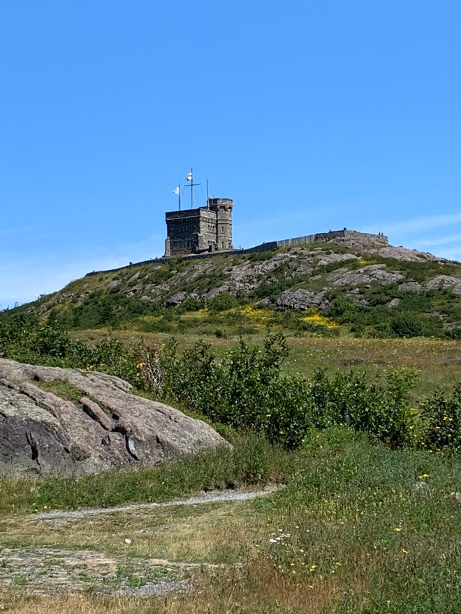 Cabot Tower on Signal Hill in St. John's, NL - photo by Karen Anderson