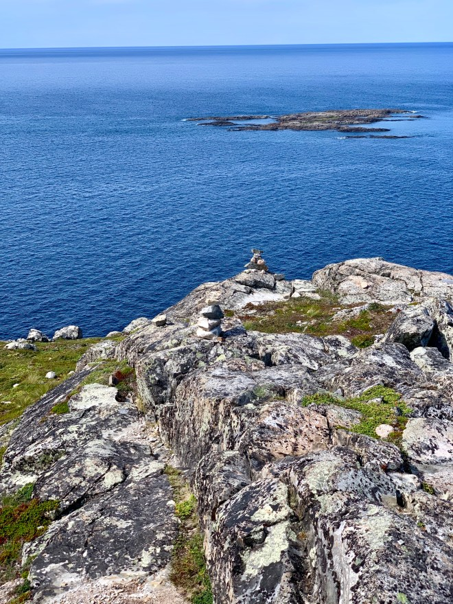 View of the North Atlantic from Brimstone Head, NL - photo by Karen Anderson