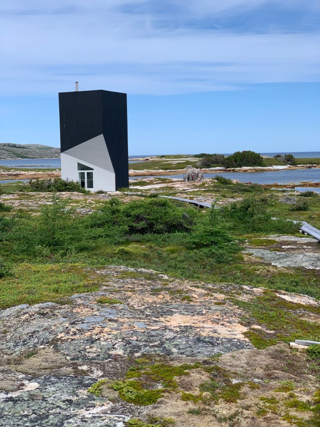 Tower Studio as one of four artist's studios on Fogo Island
