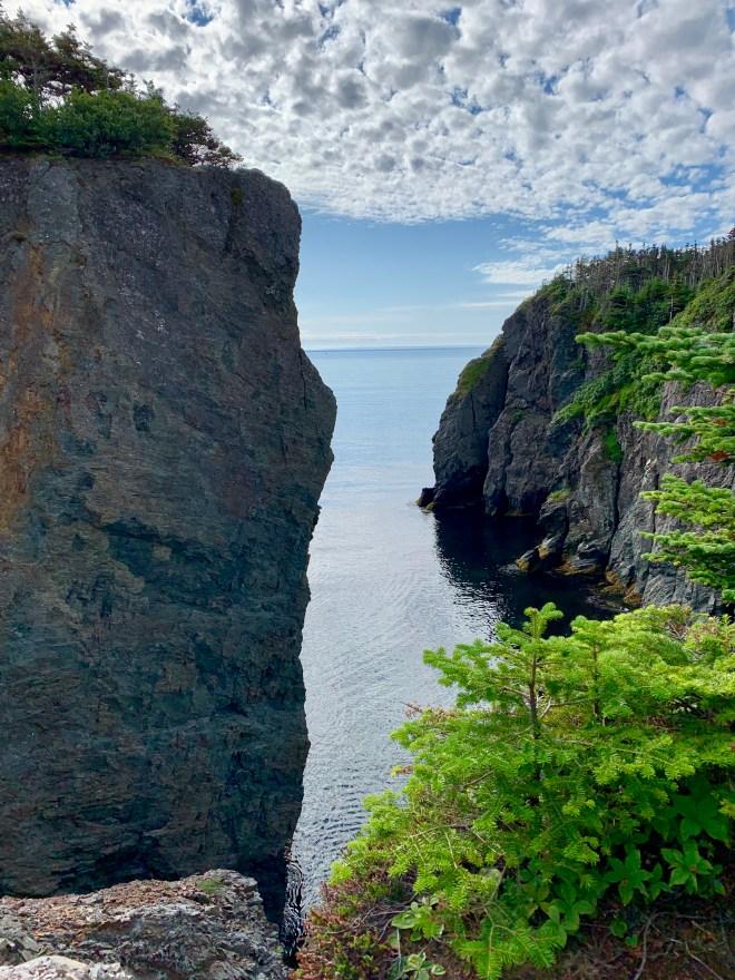 rugges cliffs of Skerwink Trail, NL - photo by Karen Anderson
