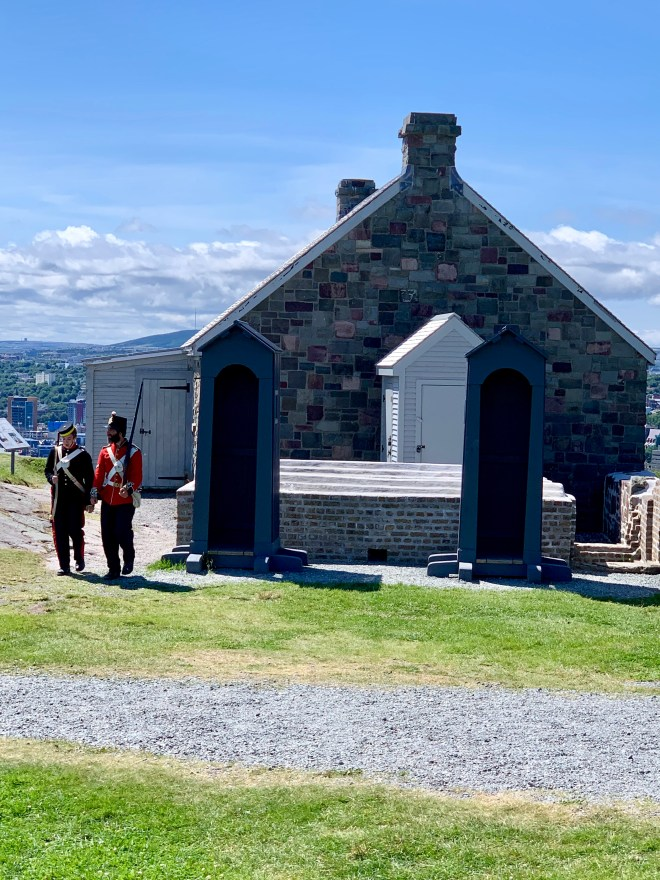 Queen's Battery on Signal Hill, St. John's, NL - photo by Karen Anderson