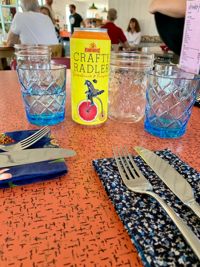 place settings like home at Bang Belly cafe