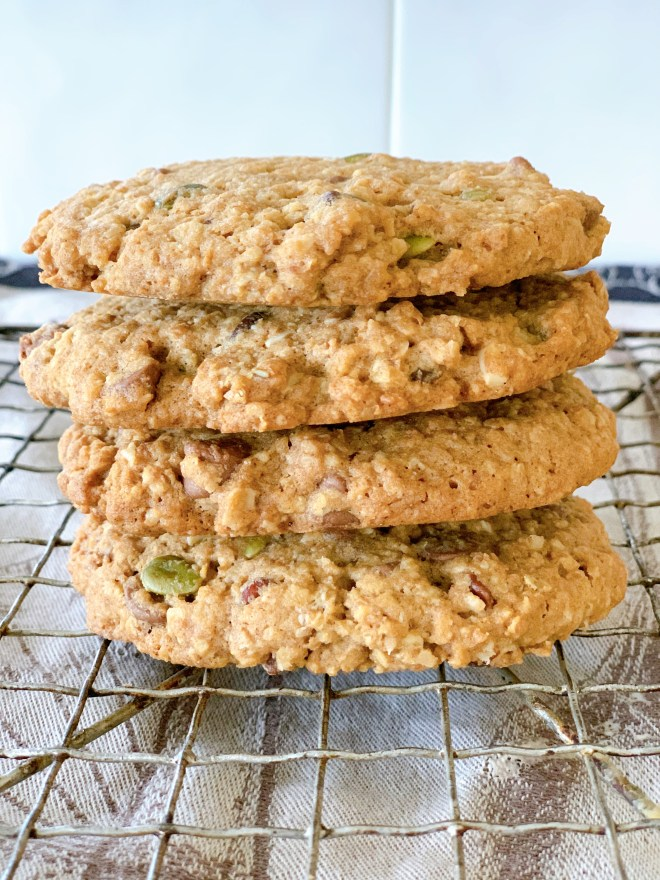 Heartland Nutri Cookies - stacked four hight