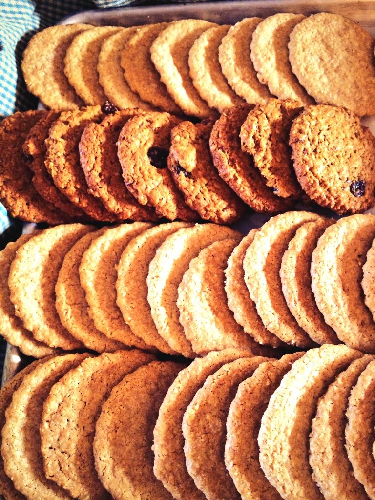 Highwood Crossing Steel Cut Oats Cookies