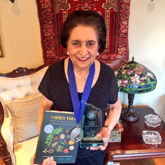 Noorbanu Nimji - with awards