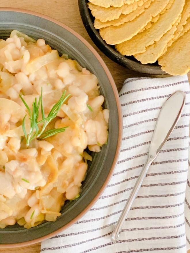 White Beans Italiano - close up