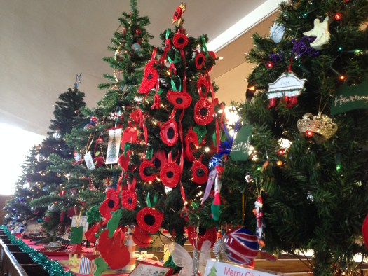British Legion Poppy Christmas Tree