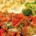 Throwback Thursday: Balsamic Baked Bruschetta Chicken