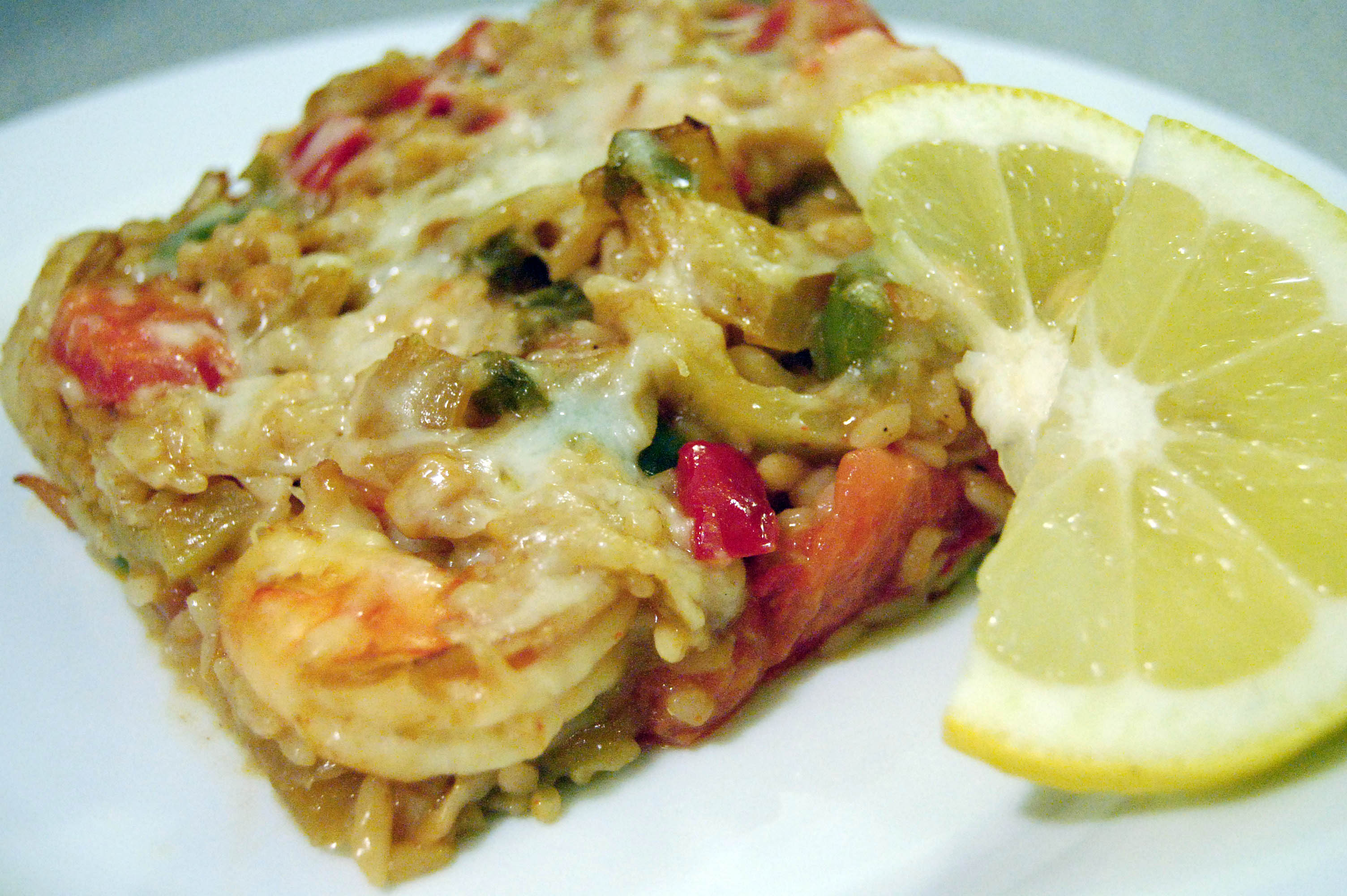 crab and shrimp casserole cheese