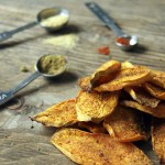 Spiced Sweet Potato Chips