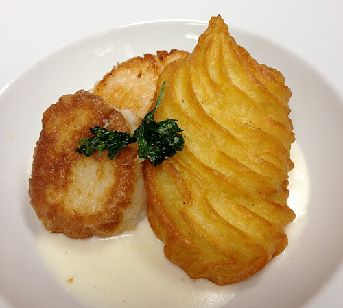 Scallops-Potatoes-Duchesse
