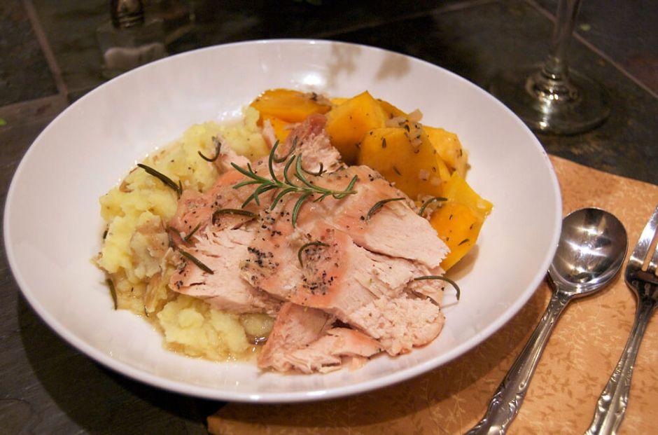 Maple-Rosemary-Turkey