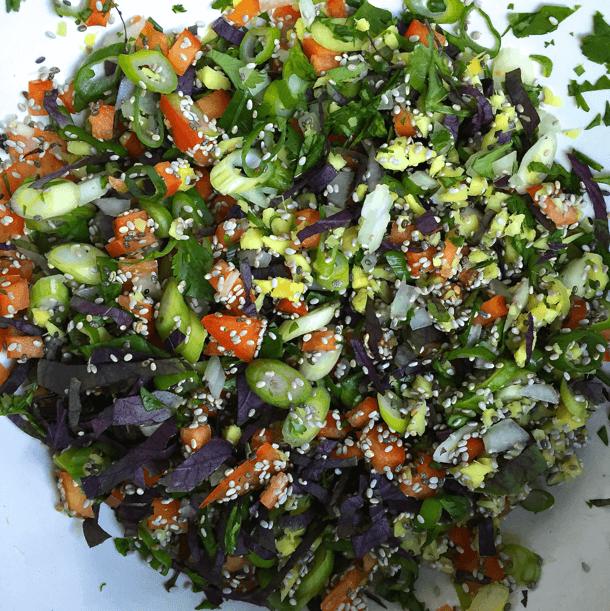 Thai Herbs and Vegetable Mixture