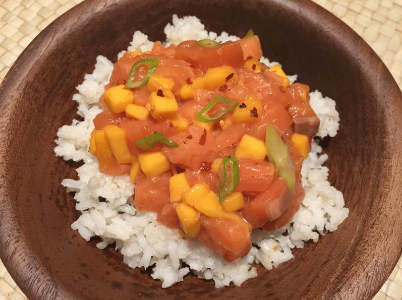 salmon-mango-sweet-chili-poke