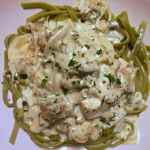 Chicken Fettuccini w/ Tarragon Cream Sauce
