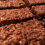 Dark Chocolate Energy Bars with Chia & Flax