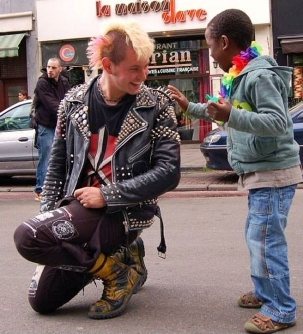 punk-dečak