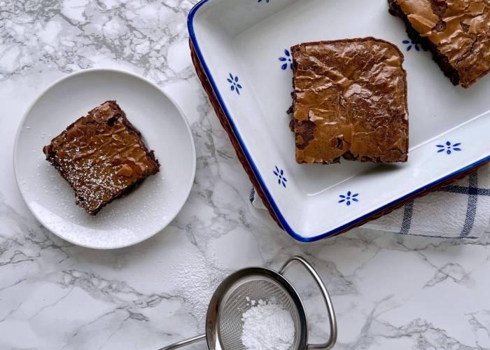Reste-Brownies