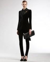 Gucci velvet pants suit