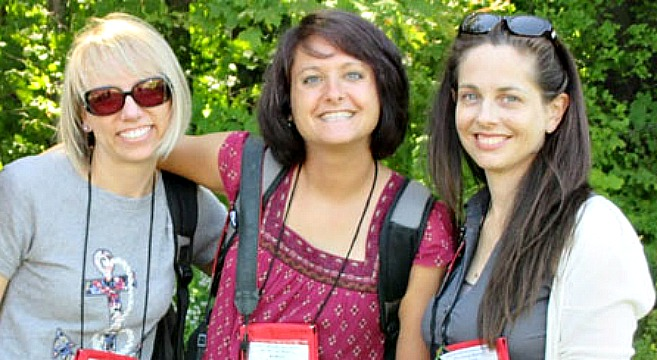 The Savvy Gardening experts are Jessica Walliser, Tara Nolan and Niki Jabbour
