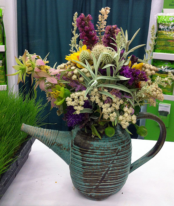 Miriam's stunning bouquet at last year's Garden Writers Association conference held in Quebec City.