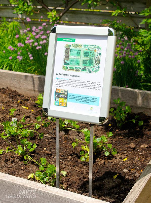 Garden plans from Groundbreaking Food Gardens!
