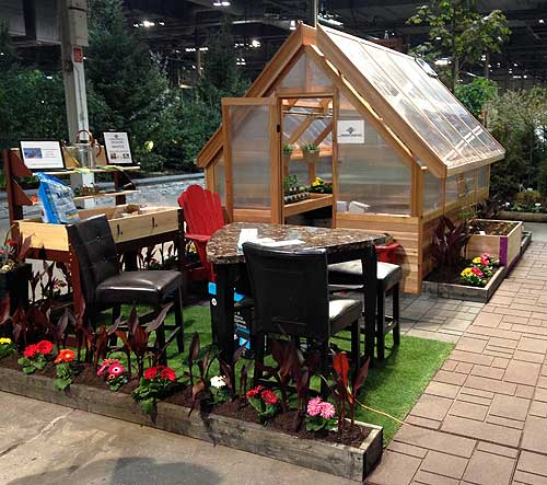 Canada Blooms greenhouse