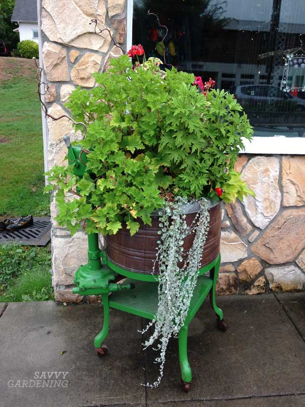upcycling garden ideas: cider press