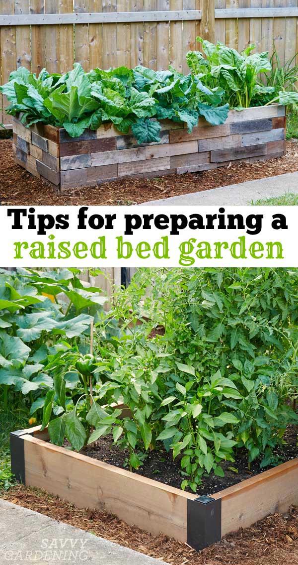 Raised Vegetable Garden Landscape Fabric
