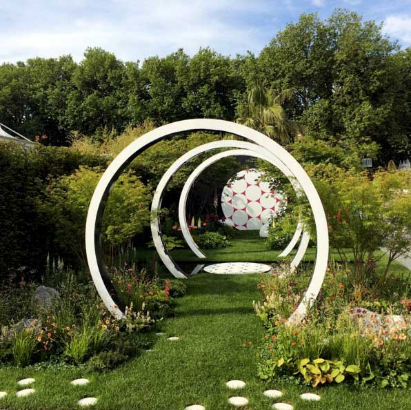 The Breast Cancer Now Garden at the Chelsea Flower Show
