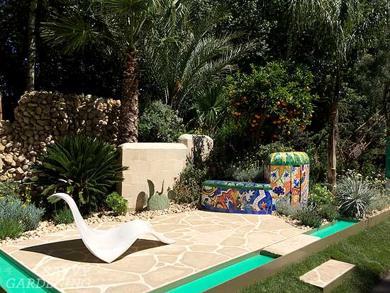 The Viking Cruises Garden of Inspiration at Chelsea