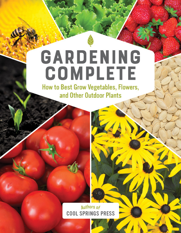 Excerpt from Gardening Complete on how to identify garden pests.