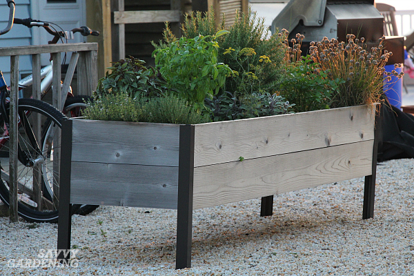 Elevated planters are a great place to grow herbs. (AD)