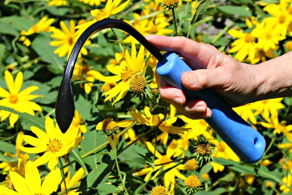 A Cobrahead Weeder and Cultivator makes garden chores a snap!