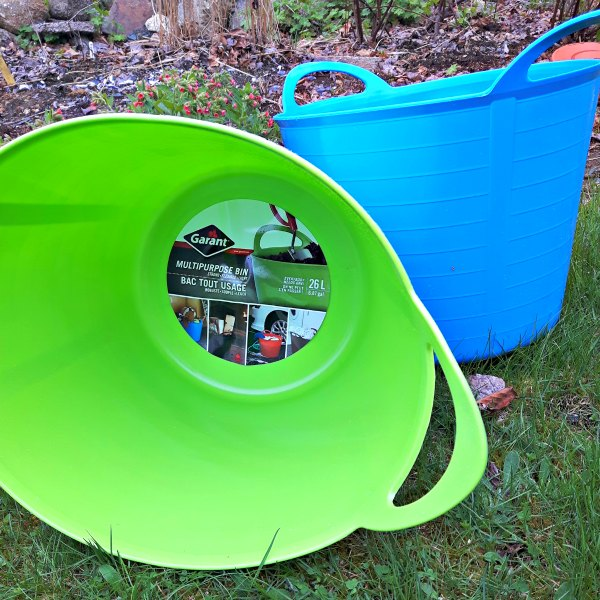 A garden tub is the garden tool you never knew you needed!