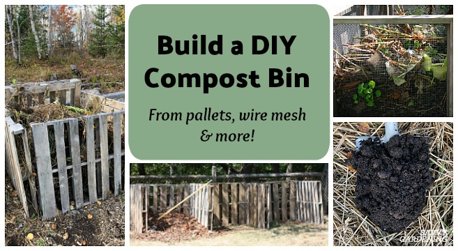 Diy Compost Bin Projects Quick And Easy Ideas To Make Your Own