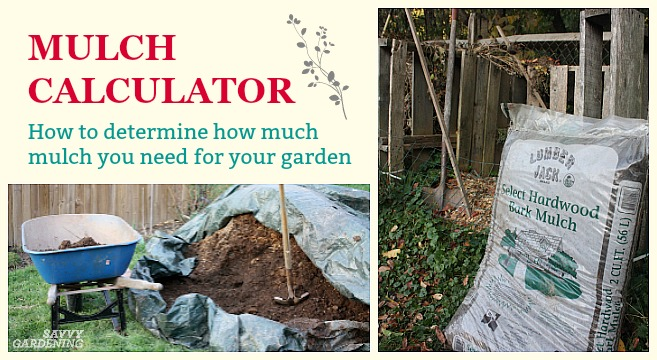 How much mulch do you need to buy for your garden?